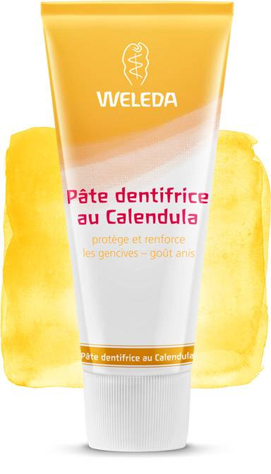 Dentifrice Naturel Weleda au Calendula (Made in Germany)