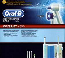 Oral-B Waterjet + OC16 Professional Care 500