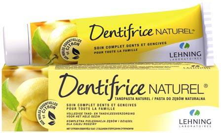Dentifrice Naturel LEHNING - Aux sels minéraux de Schüssler (Made in France)