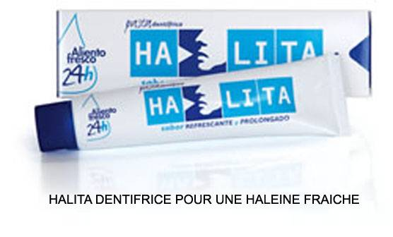 Halita dentifrice Tube 75 ml (Dentaid)