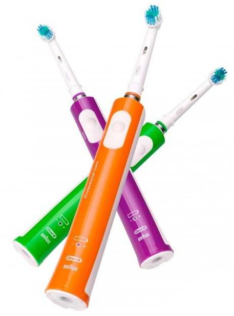 Oral-B Professional Care 500 Colour Edition (Vert / Orange / Violet)