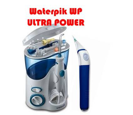 Waterpik WP100 ULTRA + Power Flosser