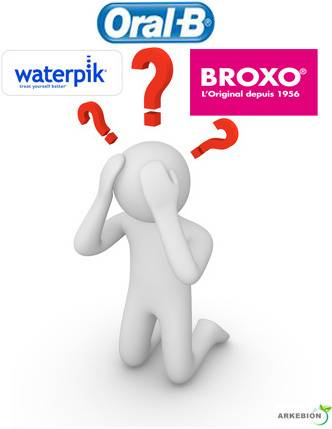 TRIOBOX - Que choisir ? Oral-B, Waterpik, Broxo ?